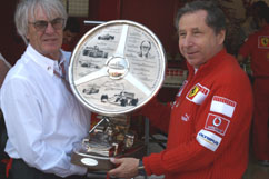 Wheatcroft Trophy for Ecclestone