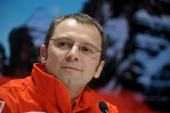 the new boss - Stefano Domenicali
