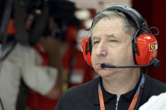 Jean Todt in new role as consultant