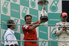 Stefano Domenicali with constructor's cup