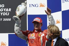 Kimi on the Podium -- 3rd place